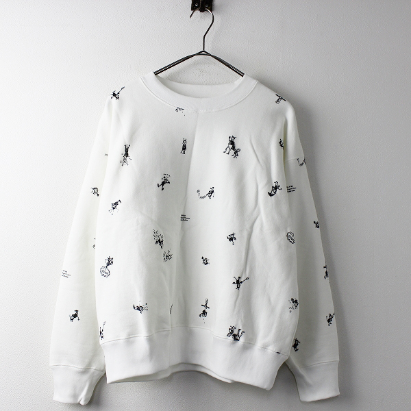 R&D.M.Co- BRIKIN PRINT SWEAT SHIRT