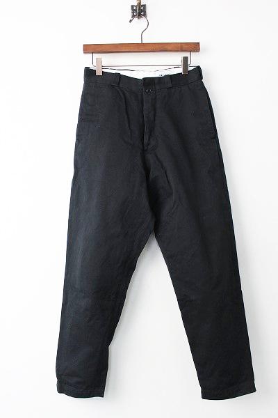 YAECAチノクロス ワイド テーパード パンツ chino cloth pants wide tapered