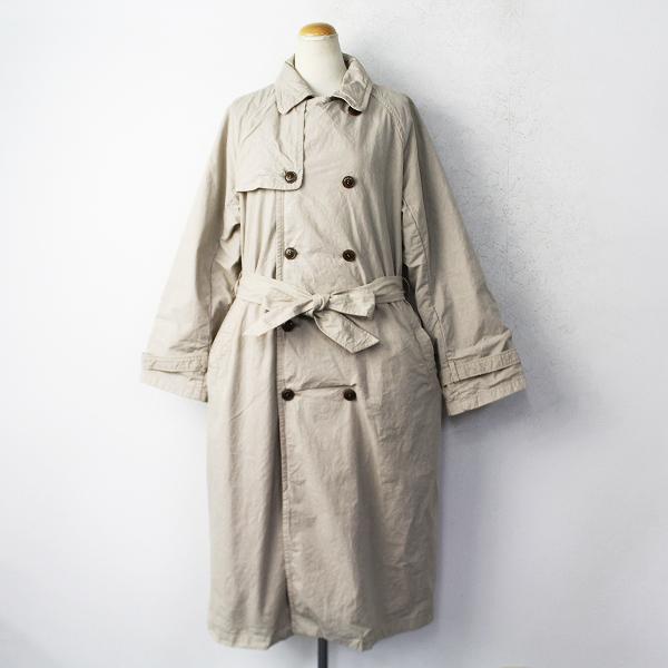 nest Robeスーピマ コットン トレンチ コート
