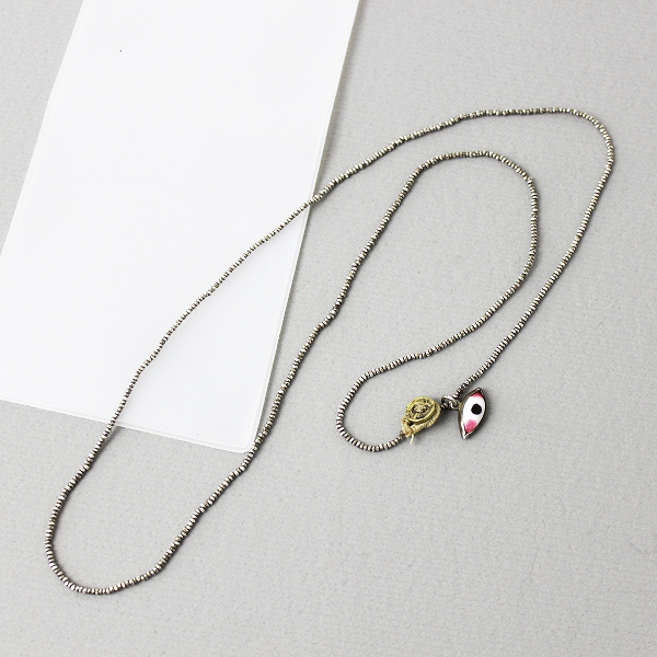 dosasilver bead necklace シルバー ビーズ ネックレス