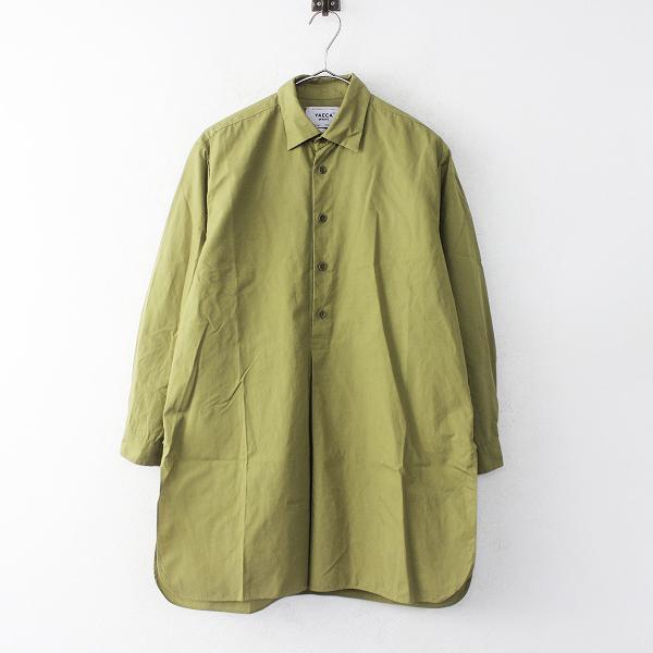 YAECA98103 ボタンシャツ プルオーバー