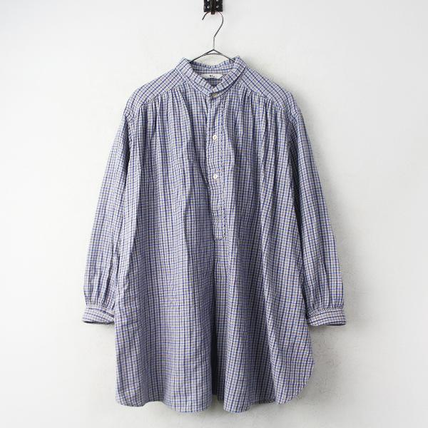 45rpm先染 ビエラ ビッグ シャツ