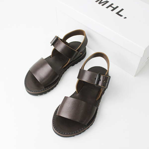 MARGARET HOWELL 595-8170502 LEATHER SANDAL レザー サンダル