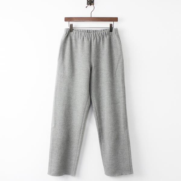 evam evaE183K064 wool straight pants