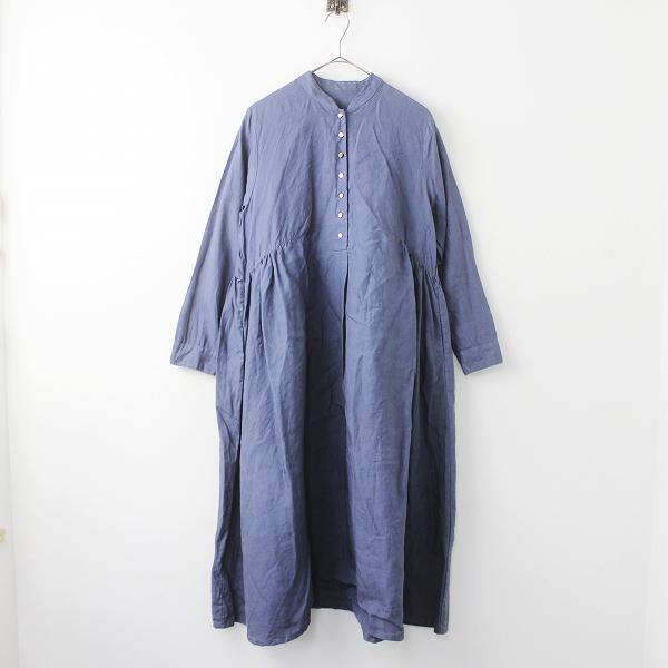 nest Robe高密度 リネン クラシカル ドレス