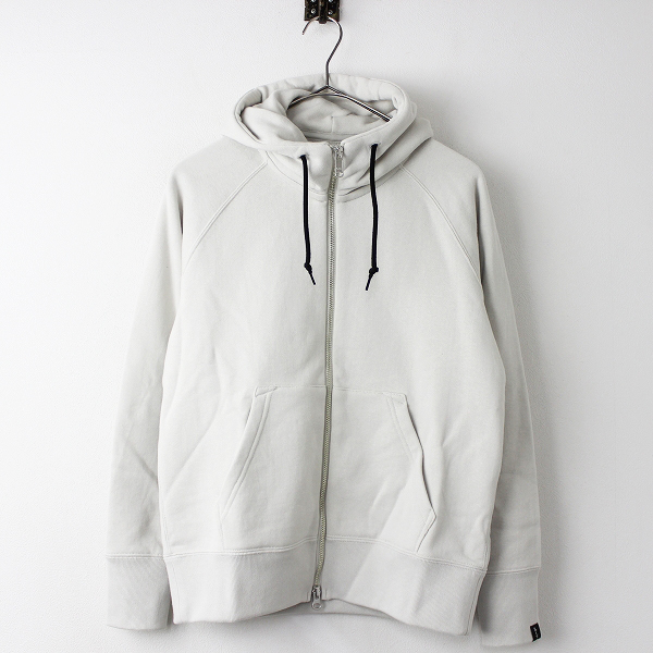 MARGARET HOWELL LIGHT LOOPBACK COTTON パーカー
