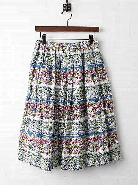 Sally Scott定価2.8万 フォレストハウスプリントスカート
