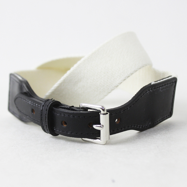 MARGARET HOWELL ROLLER BUCKLE STITCH BELT