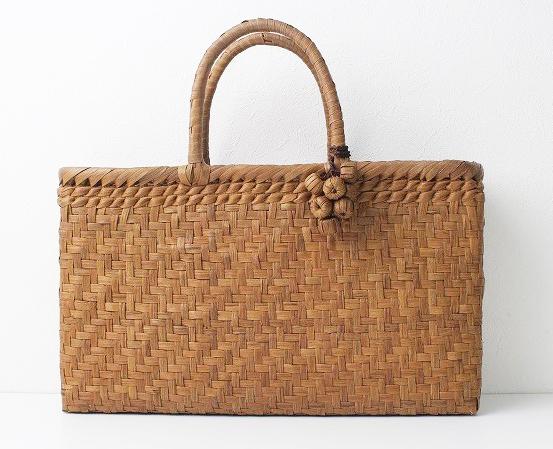 伝統工芸品網代編み かご バッグ