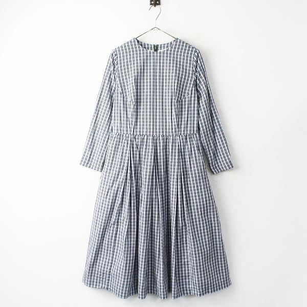 YAECAコットン タック ドレス