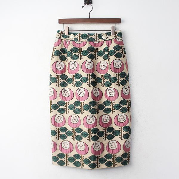 のばら ジャガード スカート