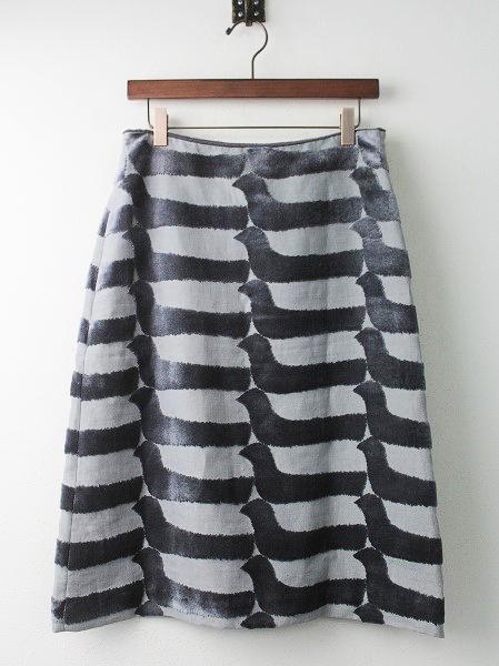mina perhonenbird boat パイル 台形 スカート