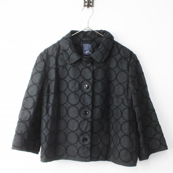 mina perhonenvs2283 tambourine リネン 刺繍 ジャケット