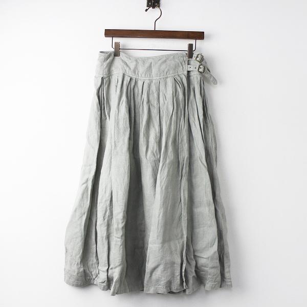 nest Robe01183-1044 ヘンプリネン 起毛 ワッシャー スカート