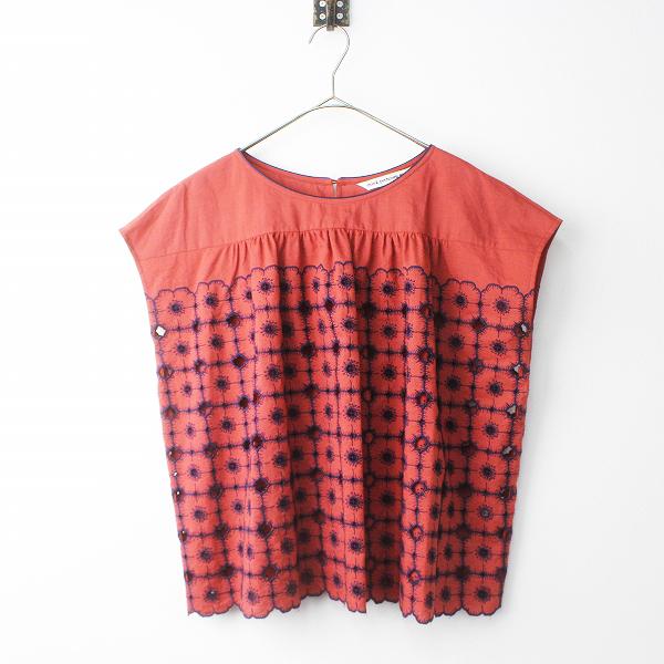 xs1983 anemone 刺繍 ブラウス