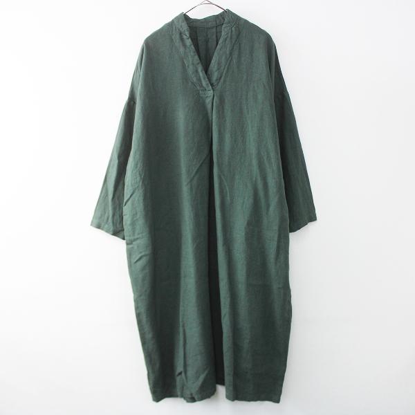 nest Robeリネン 01191-1093 リネン ワイド シルエット ワンピース