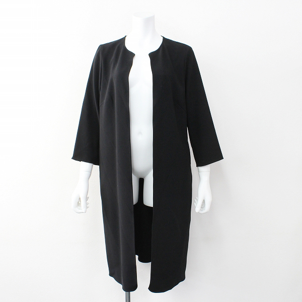DEUXIEME CLASSE 2018AW トリアセジョーゼットコート