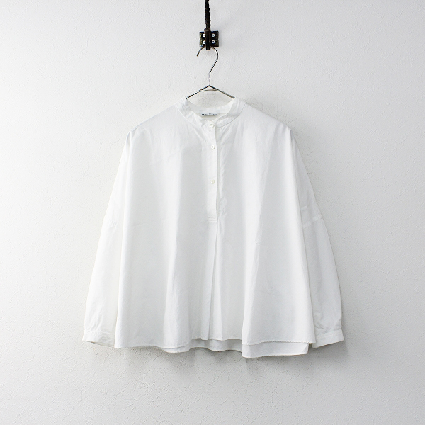 ARTS&SCIENCEARTS&SCIENCE アーツ&サイエンス slip-on bulky shirt スペシャルコットンブロード バルキーシャツ