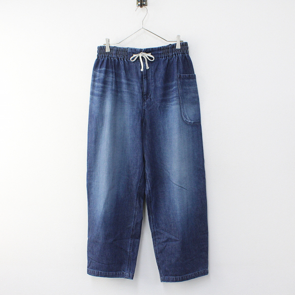 OTHER 2020-21AW atelier naruse アトリエナルセ cotton denim balloon pants