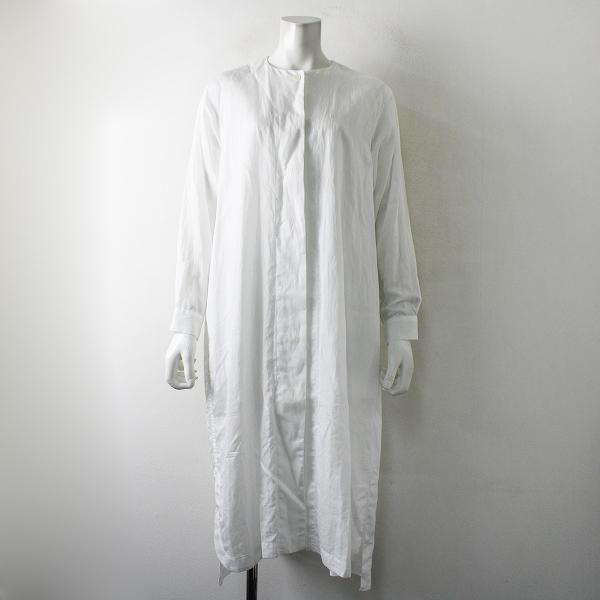 ARTS&SCIENCE2019SS ARTS&SCIENCE アーツ&サイエンス Back tuck night shirt dress