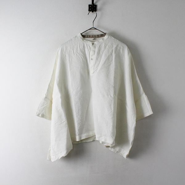 Pal'las Palace ijep パラスパレス イジェップ リネン サイドスリットシャツ