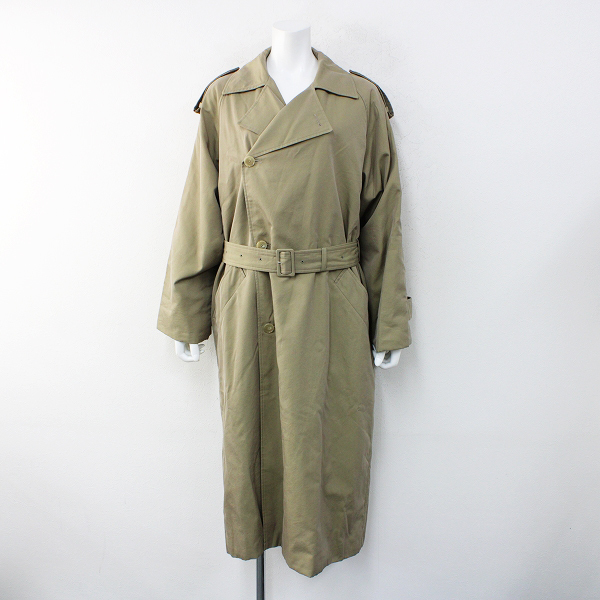 OTHER2020AW AURALEE オーラリー WASHED FINX CUPRO TWILL LONG COAT キュプラツイルロングコート